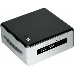 Intel NUC kit, BOXNUC5I7RYH, i7-5557U up to 3.4GHz, 2x DDR3L 1.35V SODIMM (max 16GB), 2.5