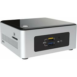 "Intel NUC kit BOXNUC5PPYH, Intel Pentium N3700 (2M Cache, up to 2.4 GHz), 2.5"" HDD/SSD Support, uCF"