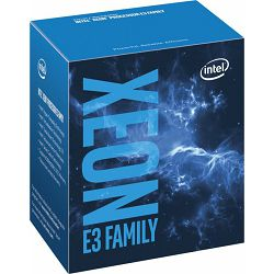 Intel Xeon E3-1220 v6, 3.0 GHz (Turbo : 3.5GHz ), Socket 1151 (LGA), BX80677E31220V6