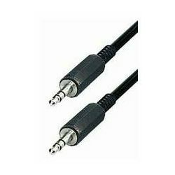 Kabel audio Connector Kabel • 3,5 mm Stereo-plug - 3,5 mm Stereo-plug 5 m, Transmedia A51-5L