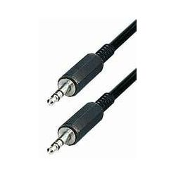 Kabel audio Connector Kabel • 3,5 mm Stereo-plug - 3,5 mm Stereo-plug 0,2 m