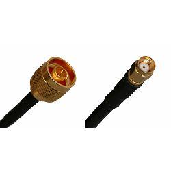 Kabel za antenu MaxLink 08-RM-NM-03, Pigtail 3m 5GHz RF240 RSMA male - N male, MXL-08-RM-NM-03