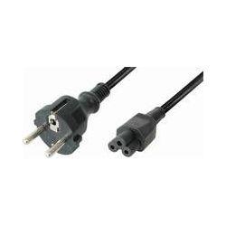 Kabel za napajanje, Transmedia N6-2L • Kabel za struju Schuco Plug - IEC 320 C5 Jack 2,0 m • Crna b