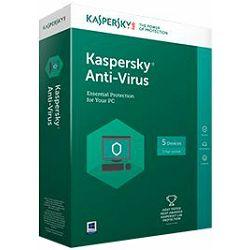 Kaspersky Anti-Virus 2017 3 licence (obnova)