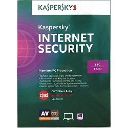 Kaspersky Internet Security 2015 1D retail renewal, obnova 1 licence 1 godina, nenadmašnu on-line s