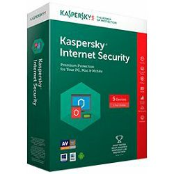 Kaspersky Internet Security 2017 1 licenca (obnova)