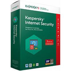 Kaspersky Internet Security 2017 3 licence