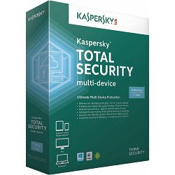 Kaspersky Total Security Multi-Device 3D retail,  Zaštita za 3 računala