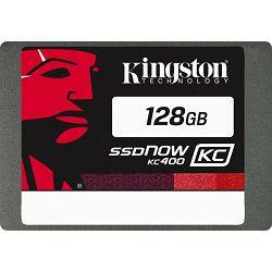 SSD 128GB Kingston SSDNow KC400, SATA3, SKC400S37/128G