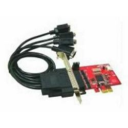 Kontroler Lycom serial 4x, PCIe x1 TO 4 SERIJSKA(RS232) port IO-107, Sučelje PCIe x1, Priključci 4x