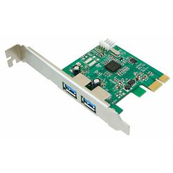 Kontroler USB 3.0 PCI-Express 1x, Asonic, 2x USB3.0, Chip NEX720200