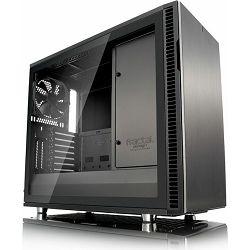 Kućište Fractal Design Define R6 Gunmetal TG, sivo sa staklom, Tip C, USB-C, FD-CA-DEF-R6C-GY-TGL