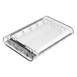 Orico 3.5i USB-C 3.1 Tip A, SATA, prozirno