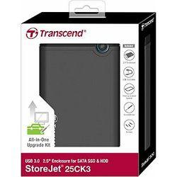 Transcend vanjsko kućište StoreJet 2.5i U3.0, TS0GSJ25CK3