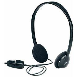 Logitech Dialog 220 Stereo Headphones, OEM