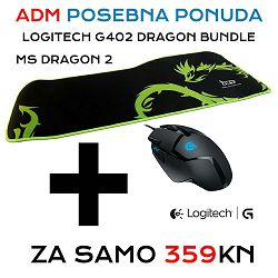 Logitech G402 Dragon bundle