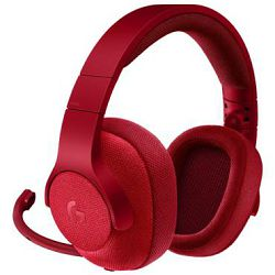 Logitech headset G433 Red 7.1, 981-000652