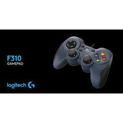 Logitech Gamepad F310, Floating D-pad, Comfort grips, USB, rabljeni, s BUG testa