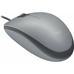 Logitech M110 Silent Gray žični miš