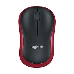 Logitech M185 Red  bežični miš