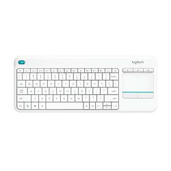 Logitech K400+ Wireless White