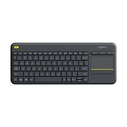 Logitech K400+ Wireless Black