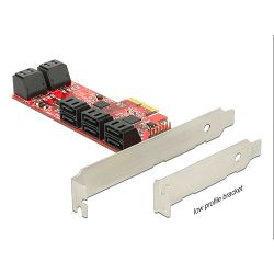 Kontroler LYCOM PCIe SATAx10 Host adapter 2.0 AHCI