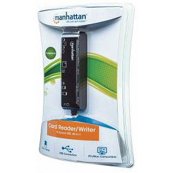 Manhattan Card Reader Slim 80-in-1, USB 2.0, 100762