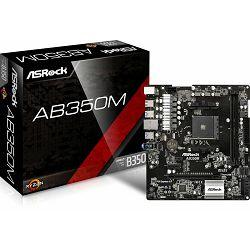 Matična ploča ASRock AB350M, s.AM4, 90-MXB580-A0UAYZ