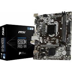 MSI B360M Pro-VH, s1151 8Gen