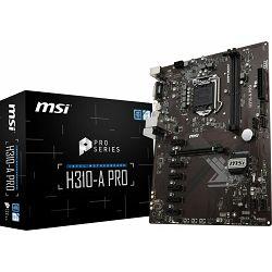 MSI H310-A Pro, s1151 8Gen