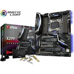 MSI X299 Gaming Pro Carbon, s2066