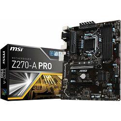 Matična ploča MSI Z270-A Pro, s1151, Kabylake ready, 7A71-001R