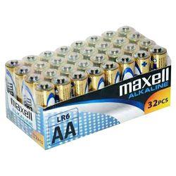 Maxell baterije AA 32 kom