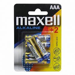Maxell baterije AAA, 6 kom, alkalne LR-3