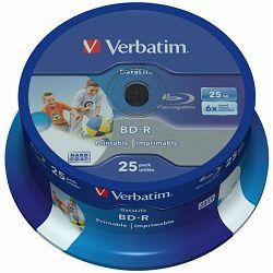 BD-R Verbatim 25kom 43811 printable