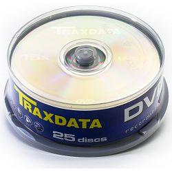 DVD-R medij Traxdata 16x 25 ko