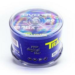 DVD+R medij TraxD 16x 50k