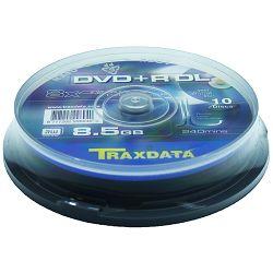 DVD+R DL medij Traxdata 10kom cake