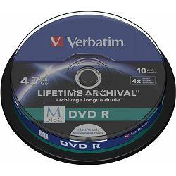 Verbatim M-Disc DVD R 4,7GB 4x 43824 komadno