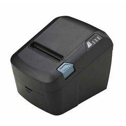 MicroPOS WTP 100+, termalni POS printer, paralelni+USB, crn, s automatskim rezačem, Širina ispisa: