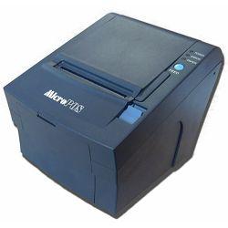 MicroPOS WTP 150, termalni POS printer, serijski, USB, crn, s automatskim rezačem