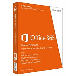 Microsoft Office 365 Home CRO/ENG 32/64bit, 6GQ-00092