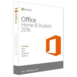 Microsoft Office Home and Student 2016 Cro za fizičke osobe