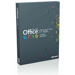 Microsoft Office MAC HOME BUSINESS 1PK 2016 za pravne osobe, W6F-00627, ESD