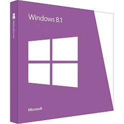 Microsoft Windows 8.1, 32bit, Croatian 1pk, DSP, OEI DVD, WN7-00654