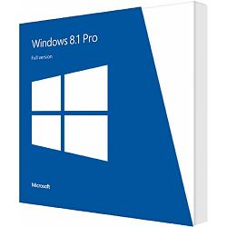 Microsoft Windows 8.1 Pro, 32bit, English 1pk, DSP, OEI DVD, FQC-06987