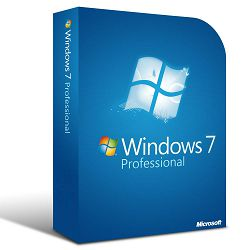 Microsoft Windows Professional 7 64bit Ger DSP, DVD SP1