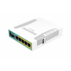 MikroTik HEX PoE RB960PGS, 5-port gigabit router