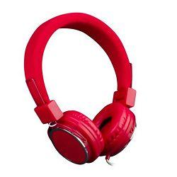 MS BEAT slušalice crvene